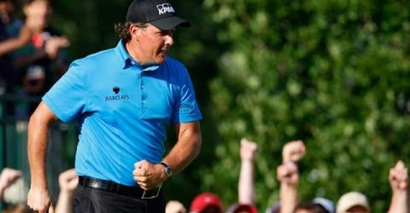 Top 10: Phil Mickelson shots on the PGA TOUR
